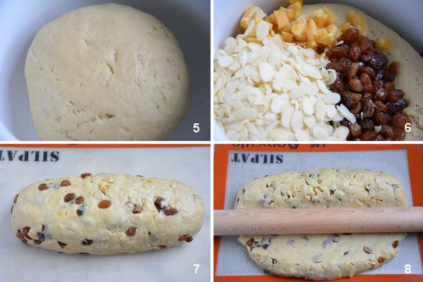 Stollen Bourdaloue Zubereitung 2